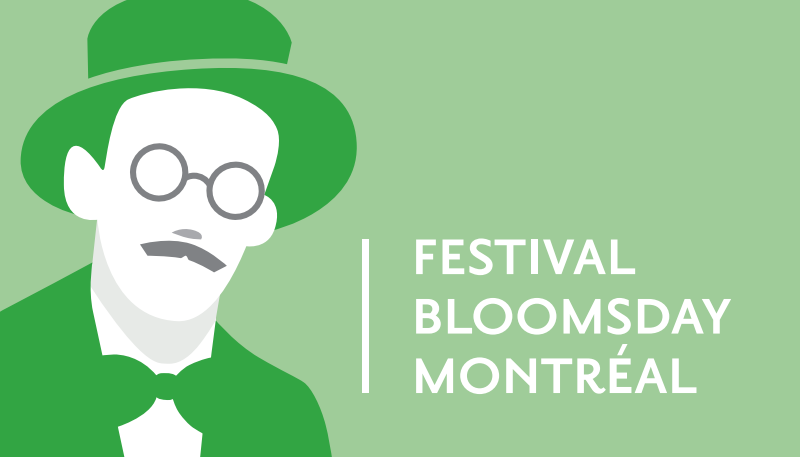 Bloomsday Logo Card