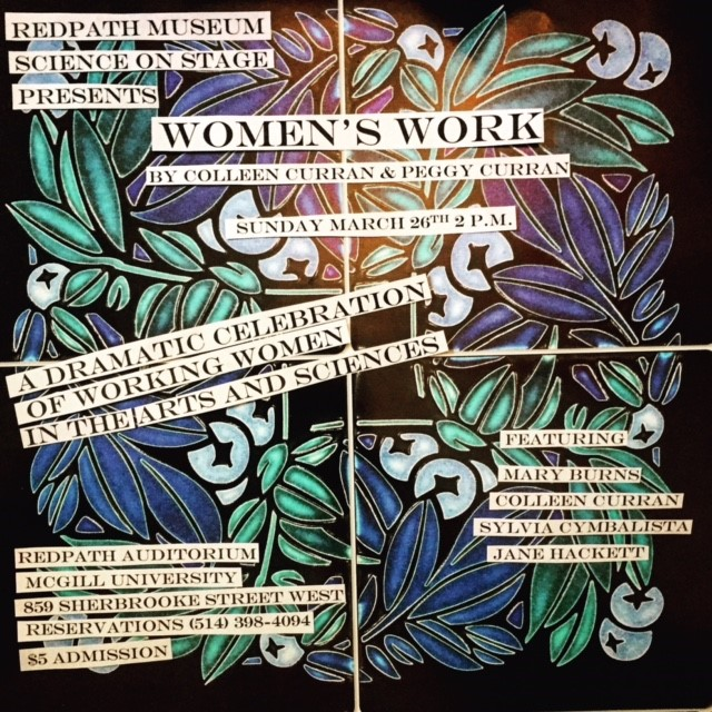 Women's Work: Staged Readings by Colleen Curran & Peggy Curran